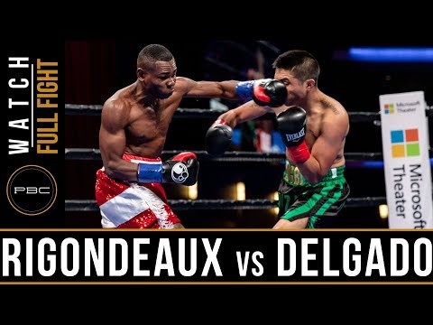 Rigondeuax vs Delgado FULL FIGHT: January 13, 2019 - PBC on FS1