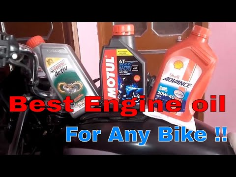 Best engine oil for any bike !!