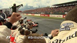 Your Favourite British Grand Prix  - 2008 Hamilton's Win In The Wet