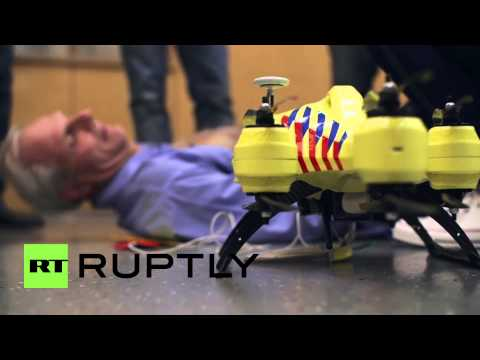 The Netherlands: This ambulance DRONE is the future of healthcare