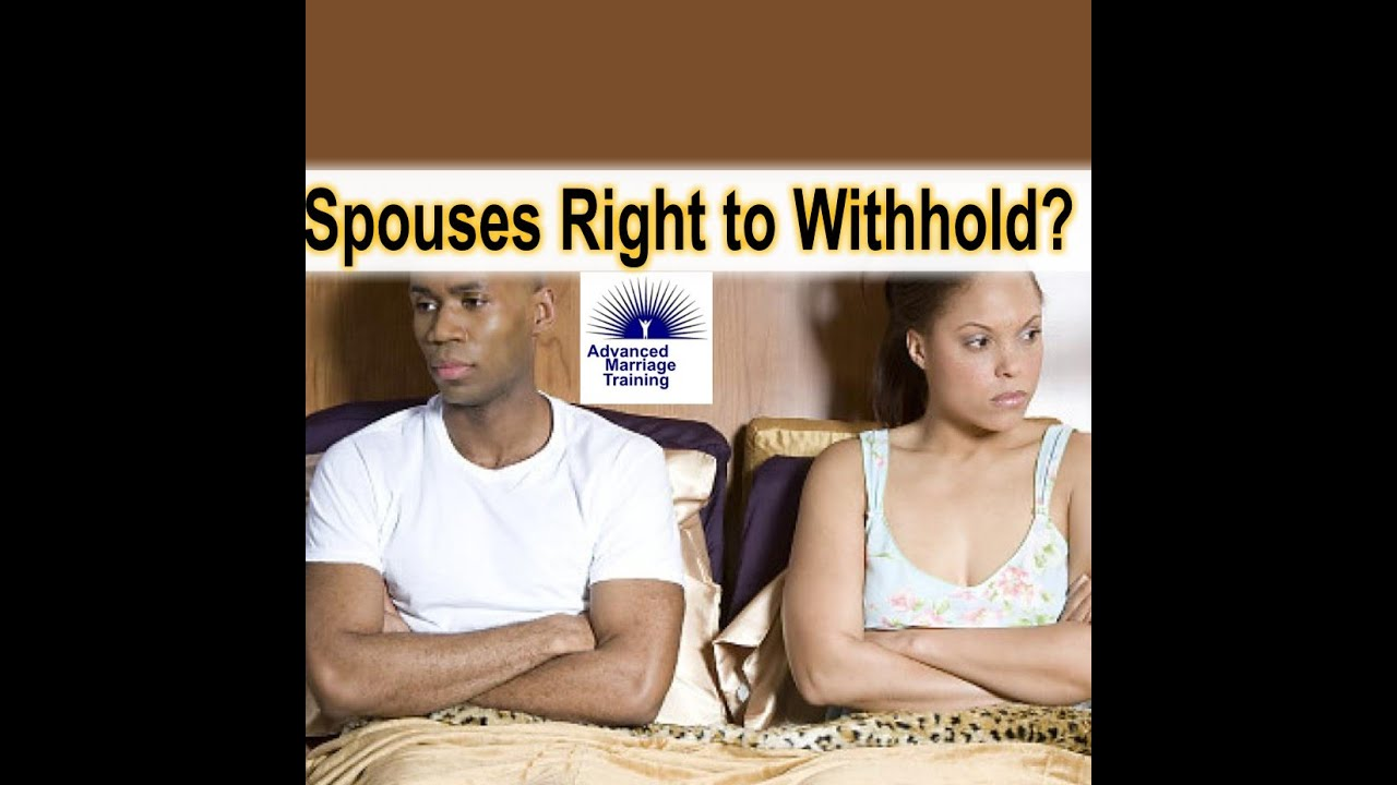withholding sex in marriage
