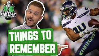 Fantasy Football 2020 - 10 Things to Remember from 2019 + Buy or Sell - Ep. #860