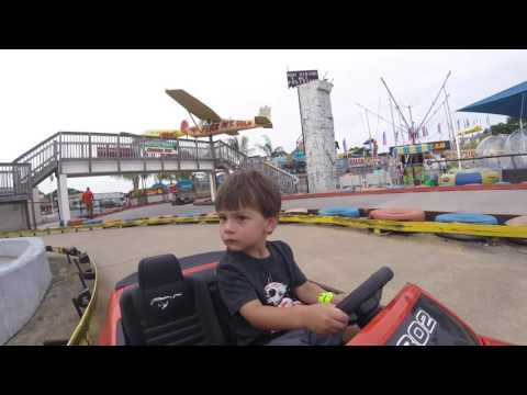 Family Day at Midway Speedway Park MOVIE