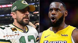 Aaron Rodgers must 'pull a LeBron' to get the Packers to the Super Bowl - Max Kellerman | First Take