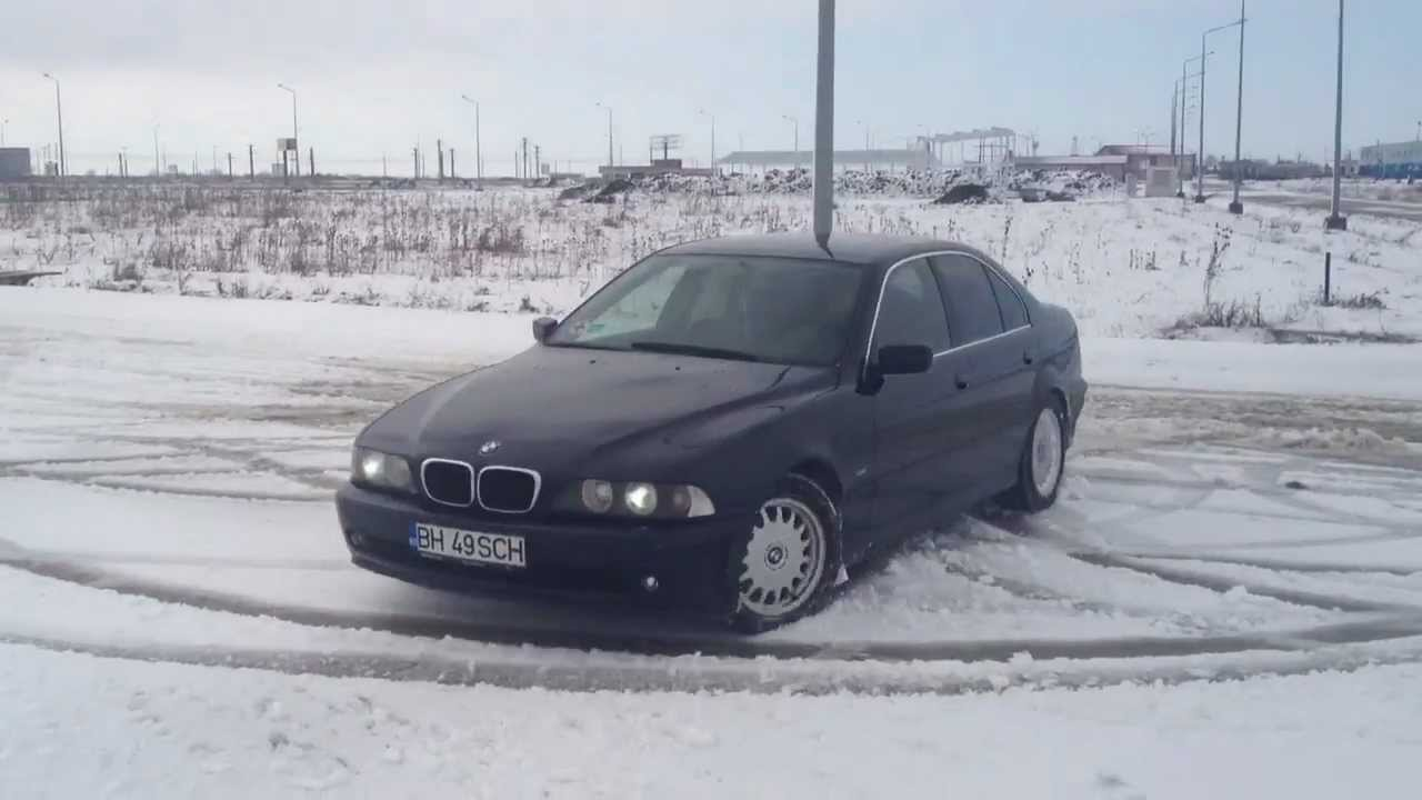 bmw 525d e39 snow drift youtube. Black Bedroom Furniture Sets. Home Design Ideas