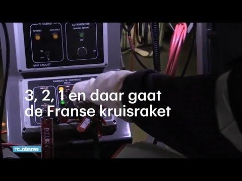 3, 2, 1 en daar gaat de Franse kruisraket - RTL NIEUWS