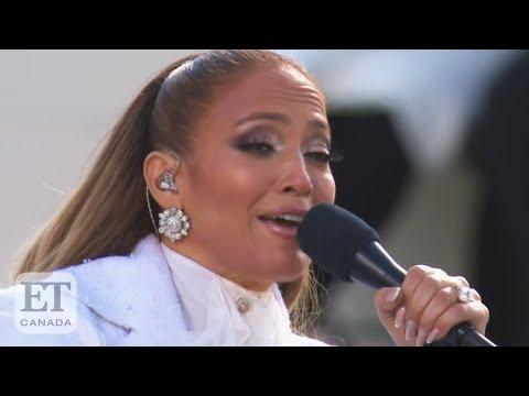 Reaction To Jennifer Lopez's Inauguration Performance