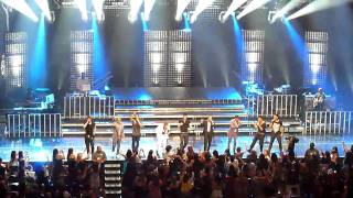 New Kids on the Block and Backstreet Boys - I want it that way live RCMH 19.06.2010