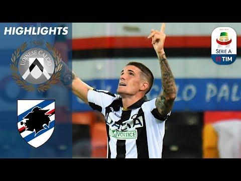 Udinese 1-0 Sampdoria | Early Rodrigo de Paul goal gives Udinese first win | Serie A
