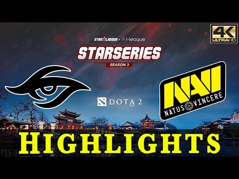 Dota 2 | Team Secret vs. Navi (Bo2) | StarLadder I-League Season 3