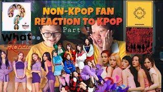NON-KPOP FAN REACTS TO KPOP! (PART I - TWICE, RED VELVET, MAMAMOO )【欢迎来到KPOP 第一集】