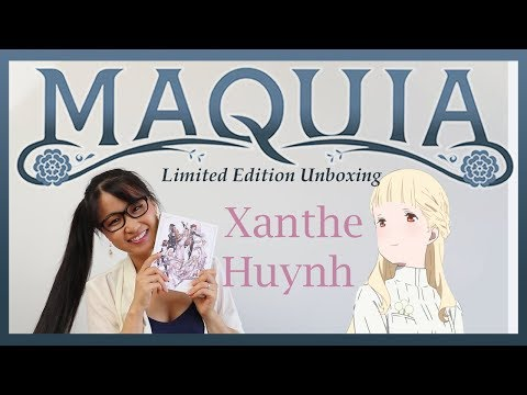 MAQUIA Limited Edition Unboxing With Xanthe Huynh