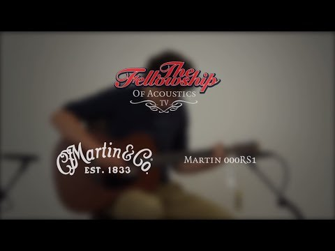Martin 000-RS1 Road series at The Fellowship of Acoustics