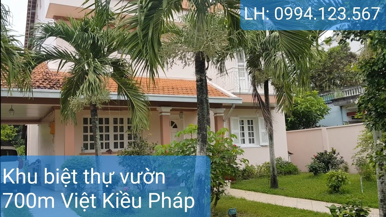 Khu biệt thự Củ Chi nhà vườn Việt kiều Pháp   DT 700m2=14mx50m nhà 2 tấm khu Việt Kiều giá 15 tỷ