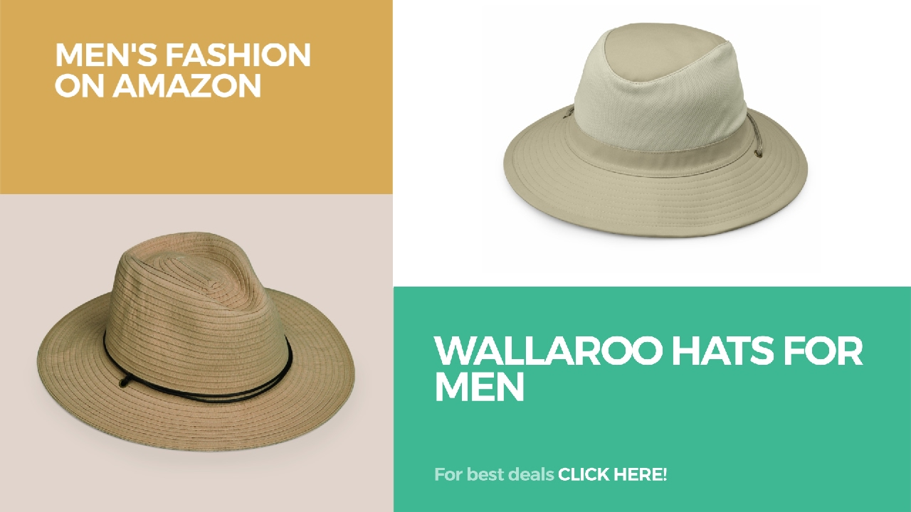 a473389935c5c Wallaroo Hats For Men Men s Fashion On Amazon - YouTube