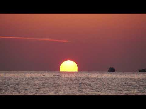 Alanya'da Günbatımı.