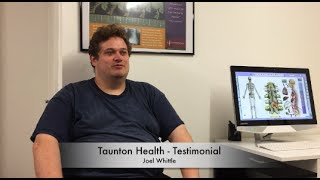 Taunton Health - Testimonial For Back Pain, Neck Pain and Health