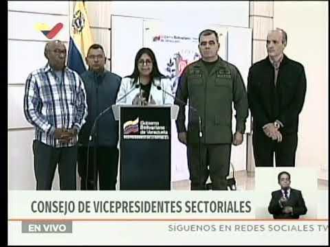 Vicepresidenta Delcy Rodríguez responde a carta de Carlos Vecchio al Comando Sur de EEUU