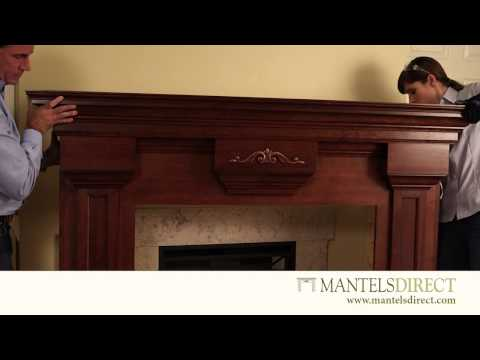 Wood Fireplace Mantel Surround | Installation | MantelsDirect