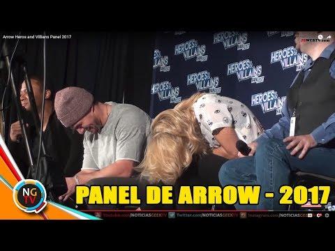 Arrow Heros and Villians Panel 2017