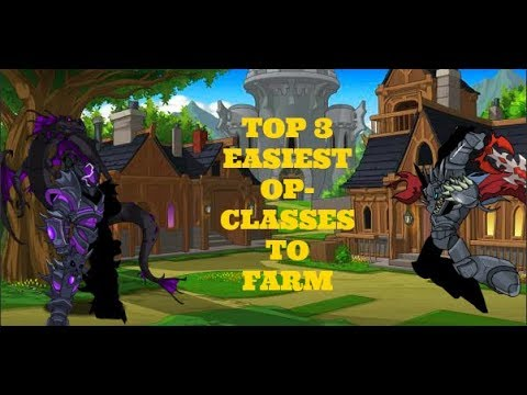 AQW - Top 3 easiest OP-Classes to farm (Recommended for beginners)