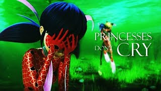 Gambar cover Princesses Don't Cry - Marinette/Ladybug