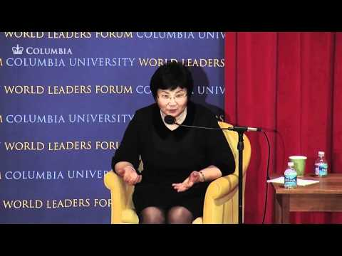 World Leaders Forum: President of Kyrgyzstan, Roza Otunbayeva