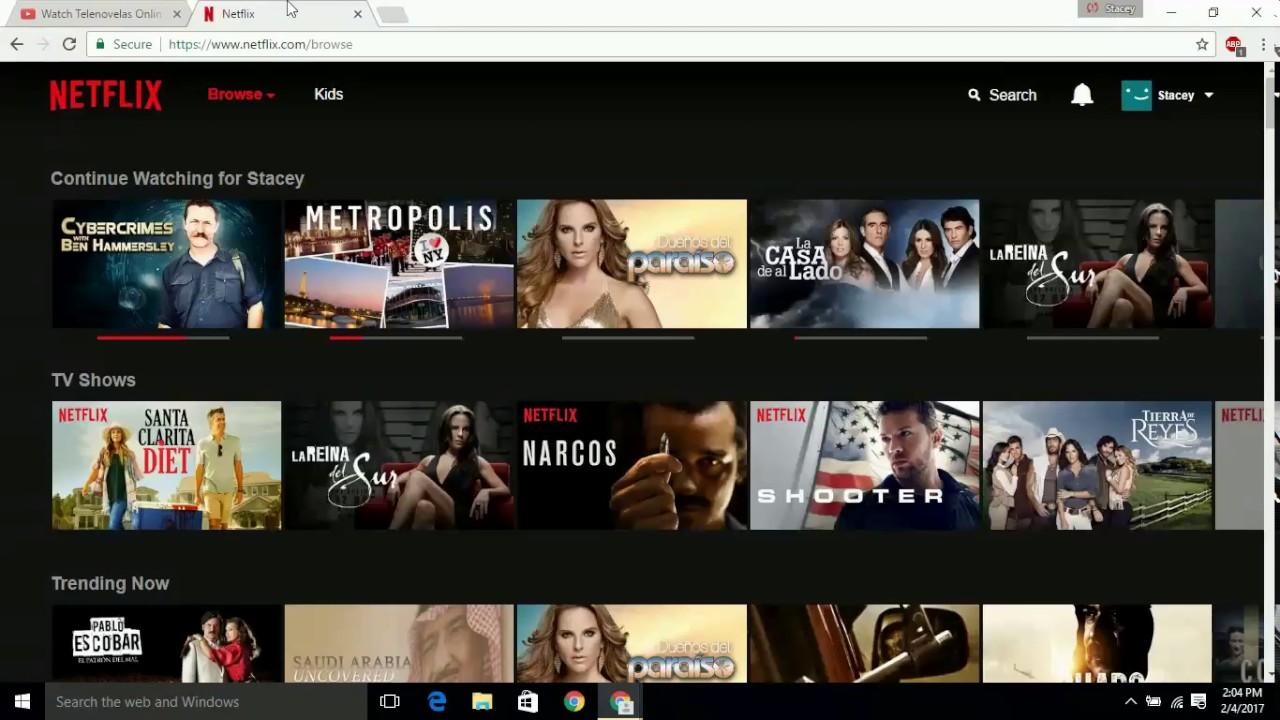 Telenovelas with English Subtitles on Netflix - YouTube