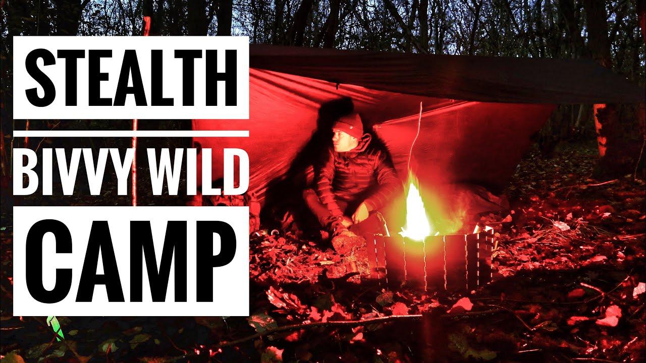 STEALTH WINTER WILD CAMPING / BIVVEY WILD CAMPING / dd ...