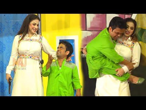 Vicky Kodu and Nida Choudhry | Part 2 | Stage Drama 2020 | Kuri Nakhray Wali | Comedy Clip 2020