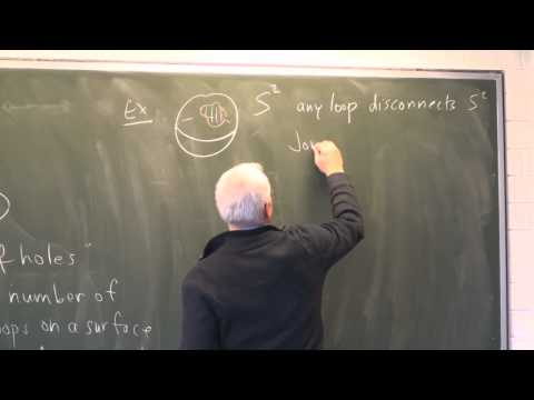 AlgTop5: Two-dimensional objects--the torus and genus