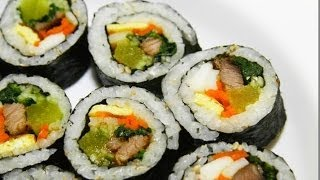 "How To Make Kimbap ""the Korean Sushi"" Fast And Delicious"