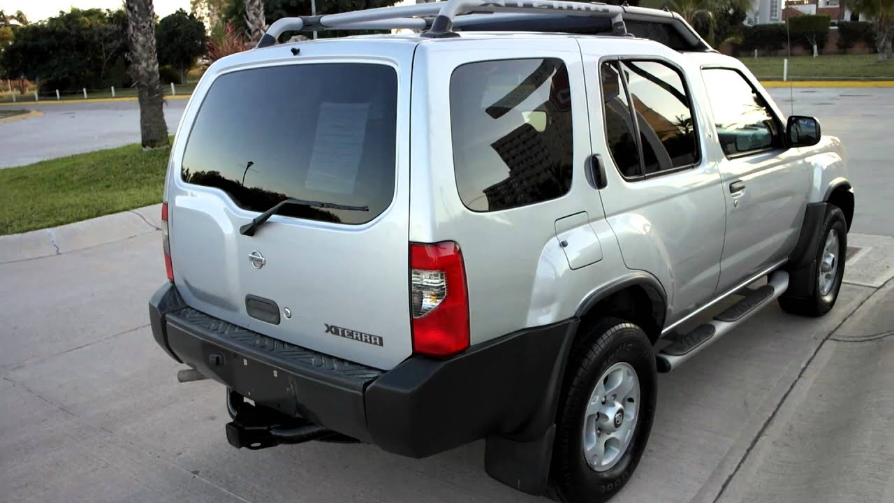 Vendo Nissan Xterra 4x4 Mod 2000 Youtube