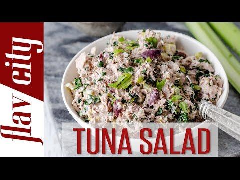 Tuna Salad With Kale, Pecans, & Avocado Oil Mayo - Bobby's Kitchen Basics