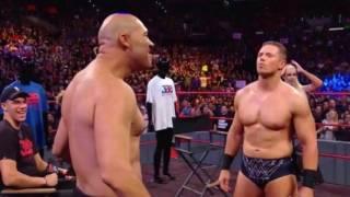 Lavar Ball makes a ridiculous WWE Raw appearance