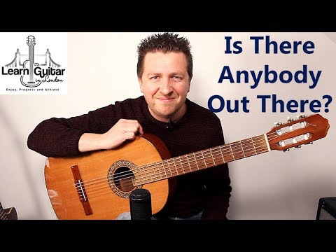 Is There Anybody Out There?  Fingerstyle Guitar Tutorial  Pink Floyd  Drue James