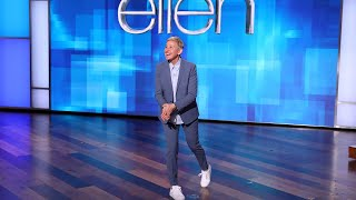 Ellen Weighs In on Reclined Airplane Seat Debate