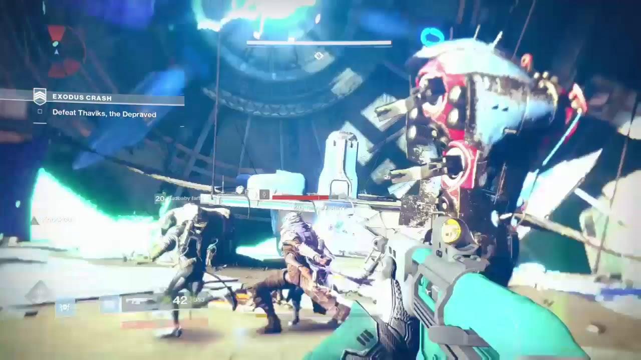 Destiny 2 THE FALLEN STRIKE BOSS