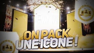 FIFA 19 - ON PACK ENCORE UNE ICONE 😍😍
