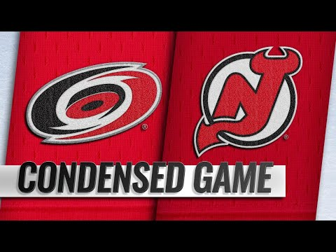 12/29/18 Condensed Game: Hurricanes @ Devils