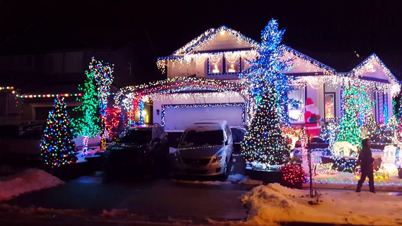 The most beautiful christmas house decor