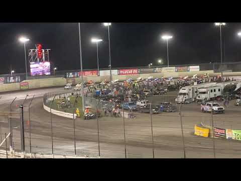 Knoxville Raceway Capitani Classic 8-4-19 first couple of laps