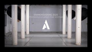 Slutvisning 2020 - Mönsterkonstruktion med sömnad