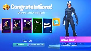 *NEW* SHADOW RISING PACK REWARDS in Fortnite!