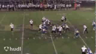 Justin Green - 2013 Football Highlight Mix - Griffith High School