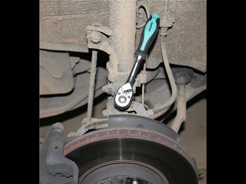 замена передних тормозных колодок на киа спектра