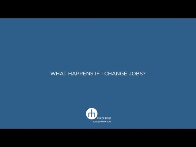What happens if I change jobs? - 08