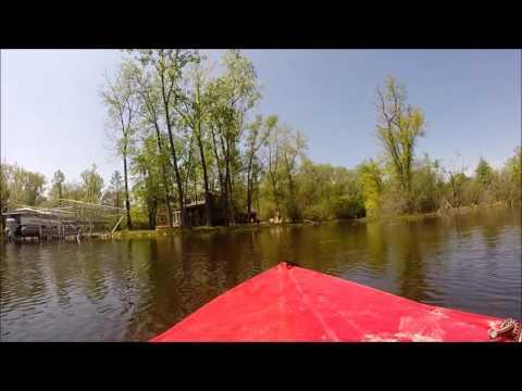 Kayaking Cass Lake, Waterford, MI