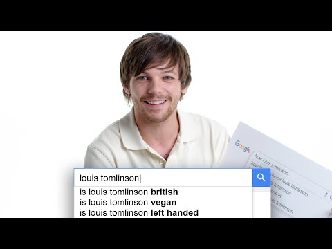 Louis Tomlinson Answers the Web's Most Searched Questions | WIRED