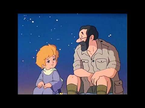 「星の王子さま」最終話で、発掘作業をしている考古学者に、「眠れないの?」と子守唄を歌います。